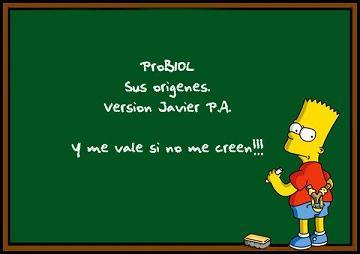 Orígenes del ProBIOL (Versus Javier Piña)