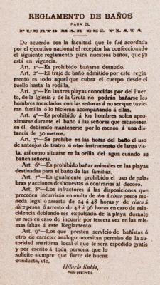 REGLAMENTO DE BAÑOS