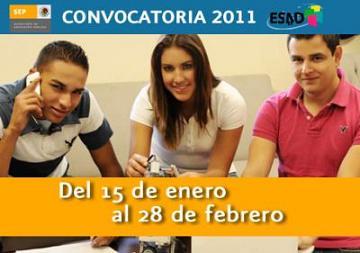 Programa de Educación Superior Abierta y a Distancia (ESAD) CONVOCATORIA 2011
